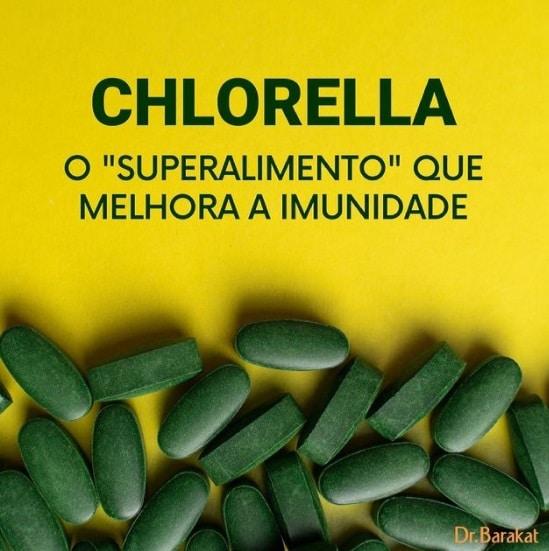os benefícios da chlorella